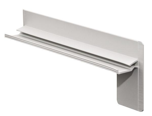 Klinkerendstück Endstück Klinker Sichtmauerwerk für Aluminium Fensterbank