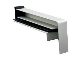 Alu Gleitendstück Gleitabschluss RAG² RAG 2 für Aluminium Fensterbank Schlagregendicht Putzrisse vermeiden Putzkante 22 mm Oberflächen RAL 9016 RAL 7016 EV1 C0 C33 G214 C 34 G216 Sonder RAL Prüfzeugnis Pulverbeschichtung Eloxal